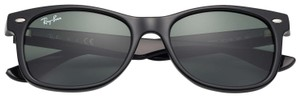 Ray-Ban Kids New Wayfarer Sunglasses RJ9052S, 47mm, Black