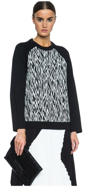Preload https://img-static.tradesy.com/item/26448833/proenza-schouler-black-and-white-r141431-sweatshirthoodie-size-6-s-0-2-650-650.jpg