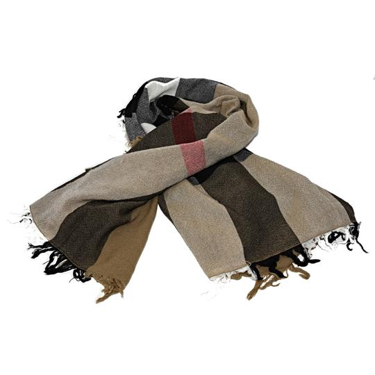 Burberry Burberry House Check Color Wool Square Scarf/Wrap Image 4