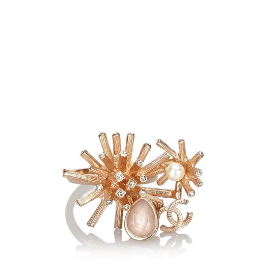 Preload https://img-static.tradesy.com/item/26448975/chanel-pink-metal-cc-rhinestone-ring-0-0-540-540.jpg