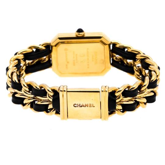 Chanel Black Gold Plated Stainless Steel Premiere Women's Wristwatch 20 mm Image 4