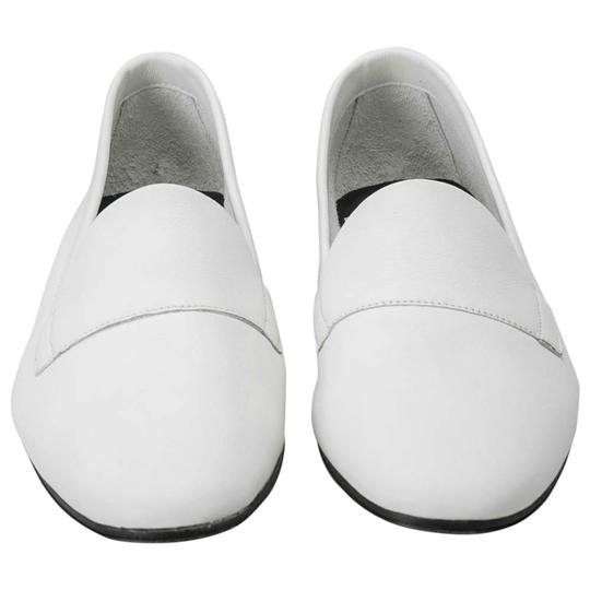 PIERRE HARDY Leather White Flats Image 1
