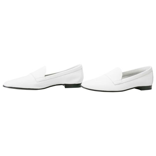 PIERRE HARDY Leather White Flats Image 2