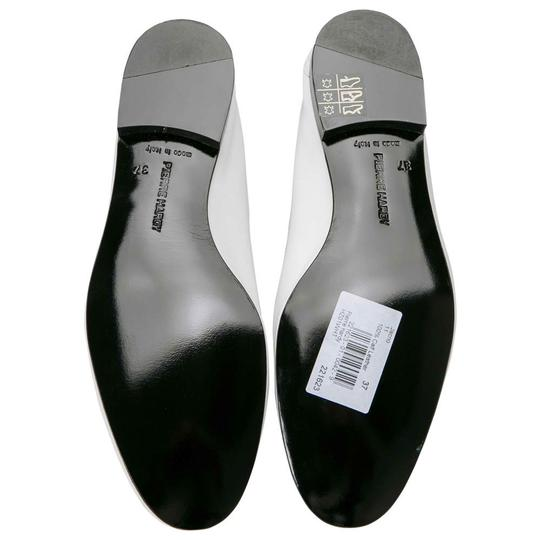 PIERRE HARDY Leather White Flats Image 4