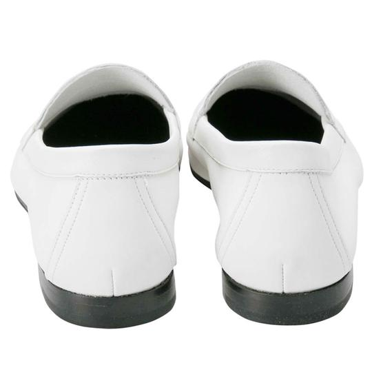 PIERRE HARDY Leather White Flats Image 5