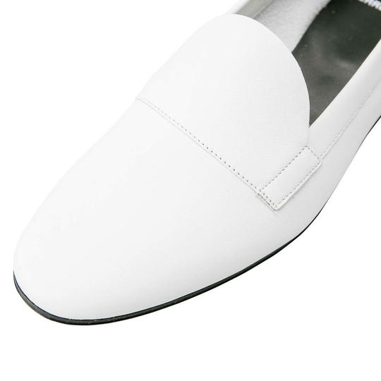 PIERRE HARDY Leather White Flats Image 6