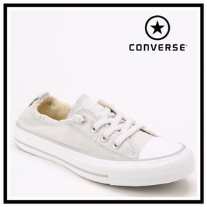 Converse Gray Oyster, White Athletic