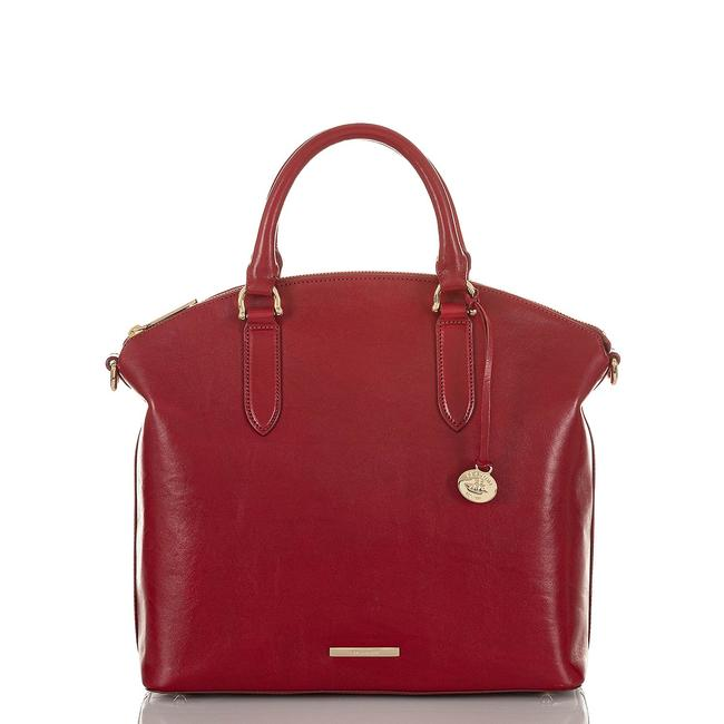Item - Duxbury Topsail Lava Red Leather Satchel