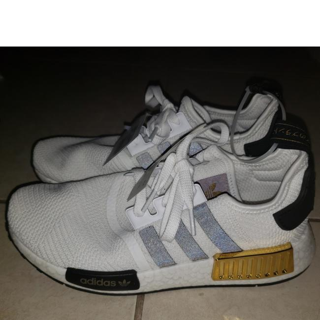 adidas White Black Gold Nmd R1 Eg5665 Sneakers Size US 7 Regular (M, B) adidas White Black Gold Nmd R1 Eg5665 Sneakers Size US 7 Regular (M, B) Image 1