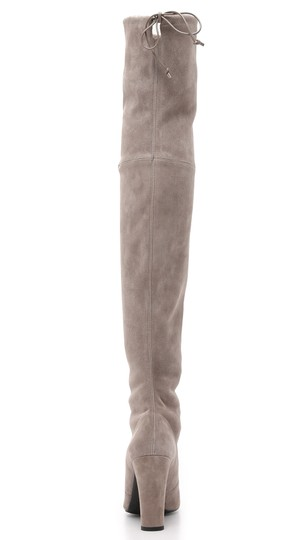 Stuart Weitzman Sw Highland Over The Knee Grey Topsue Boots Image 4