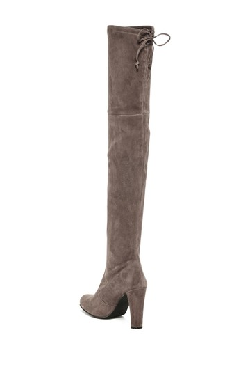 Stuart Weitzman Sw Highland Over The Knee Grey Topsue Boots Image 6
