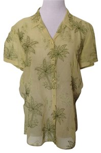 Tommy Bahama Top Pastel Green