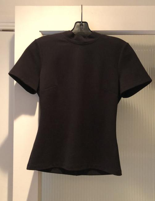 Alexis Fitted T Shirt Black Image 2