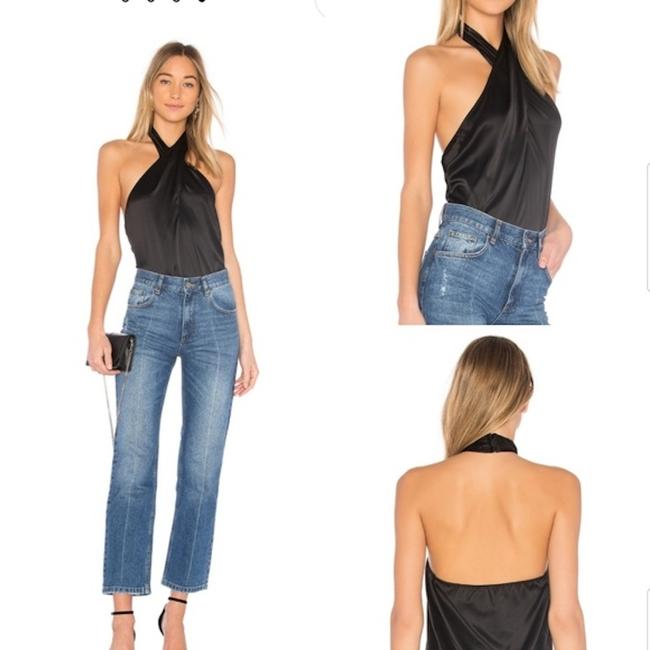 Theory Revolve H:ours Rag & Bone Nbd Aritzia Black Halter Top Image 2