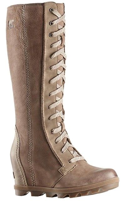 Item - Ash Brown Wedge Cate The Great 7 38 New Boots/Booties Size US 5.5 Regular (M, B)