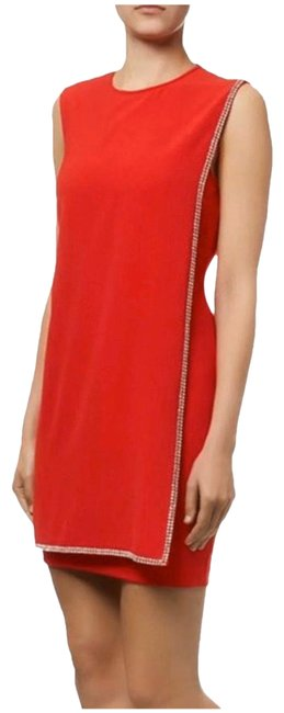 Item - Red Short Cocktail Dress Size 2 (XS)
