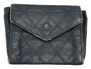 Chanel Chanel Quilted Wallet CC Coin Purse