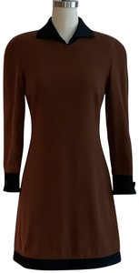 Genny short dress Brown on Tradesy