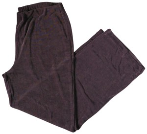 Weekenders Vintage Slinky Comfy Relaxed Pants Taupe-Mauve