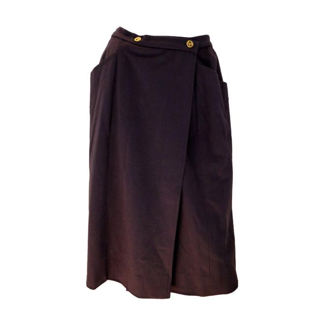 Item - Brown Ash - 1980's Skirt Size 4 (S, 27)