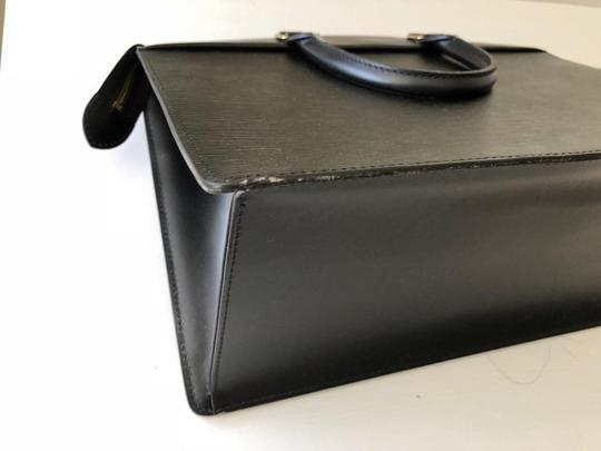Louis Vuitton Satchel in black Image 6