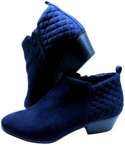 Style & Co. Hip Contemporary Comfortable Quality Stylish NAVY BLUE Boots