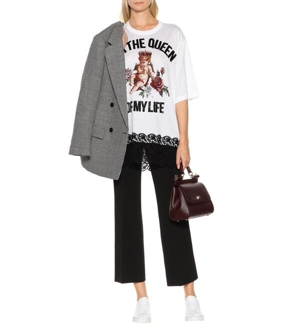 Item - White Dolce & Gabbana I'm The Queen Of My Life Oversize T-shirt Tee Shirt Size 2 (XS)
