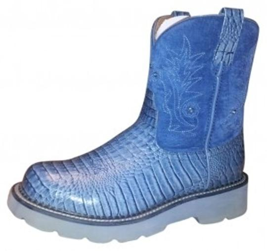 Ariat Denim Blue Boots