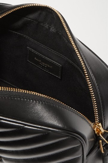 Saint Laurent Ysl Quilted Leather Cross Body Bag Image 11