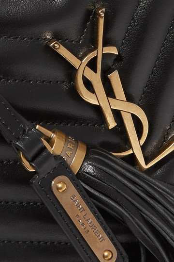Saint Laurent Ysl Quilted Leather Cross Body Bag Image 2
