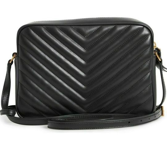 Saint Laurent Ysl Quilted Leather Cross Body Bag Image 3