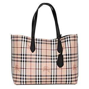 Burberry Tote in House Check/ Black