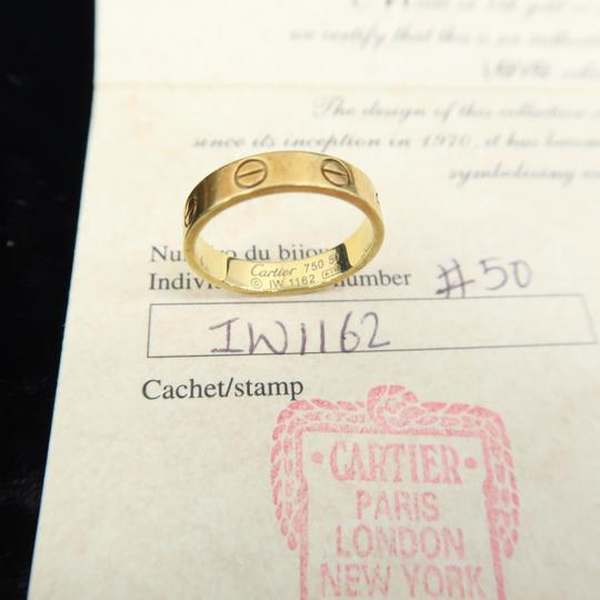 Cartier Cartier Yellow Gold Size 50 Love Ring Image 10