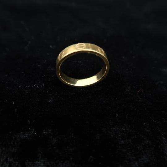 Cartier Cartier Yellow Gold Size 50 Love Ring Image 4