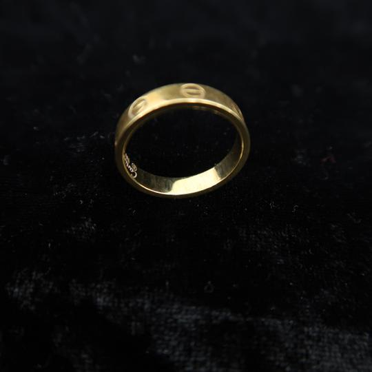 Cartier Cartier Yellow Gold Size 50 Love Ring Image 5