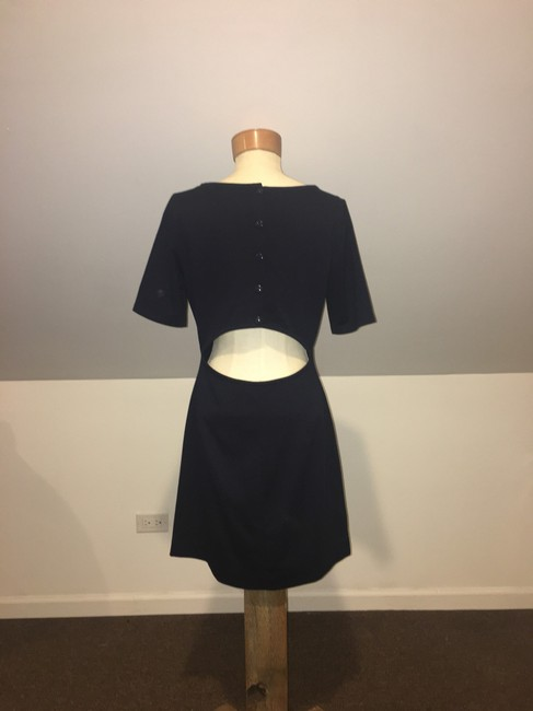 Club Monaco short dress Navy on Tradesy Image 2