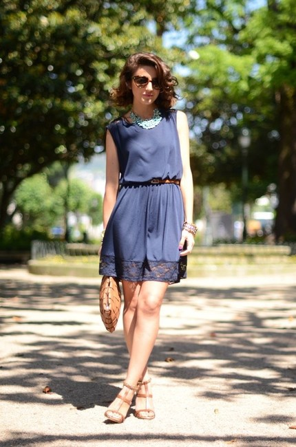 Club Monaco short dress Navy on Tradesy Image 7