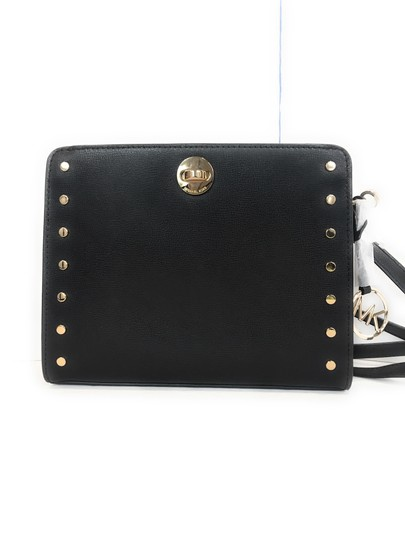 Michael Kors black Messenger Bag Image 7