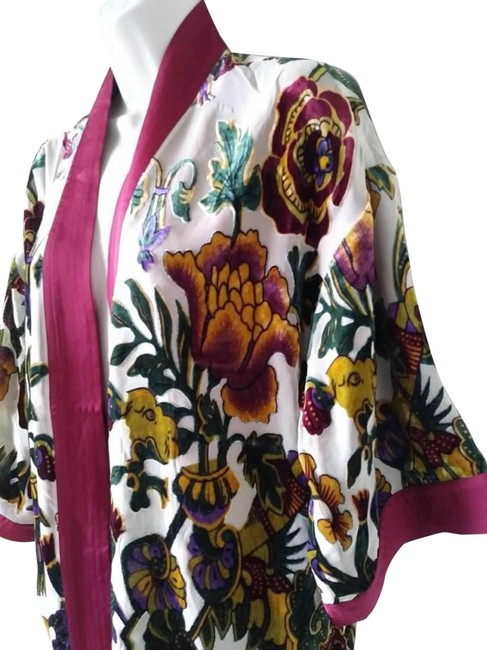 Chico's Kimono Burnout Velvet Limited Edition Tunic Image 0