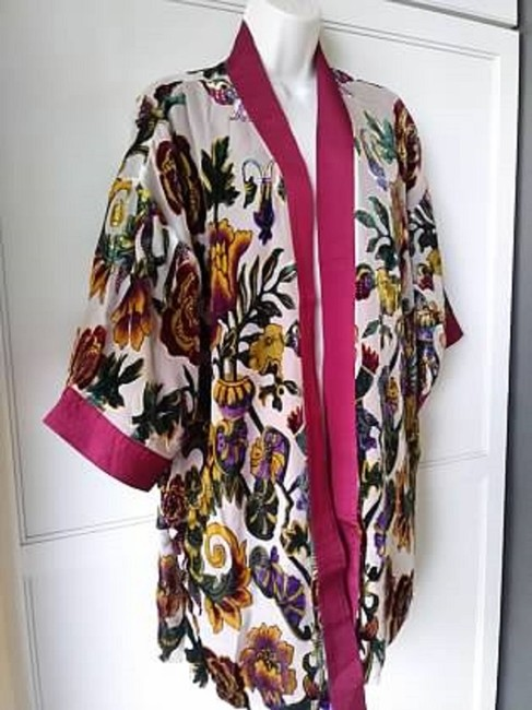 Chico's Kimono Burnout Velvet Limited Edition Tunic Image 1