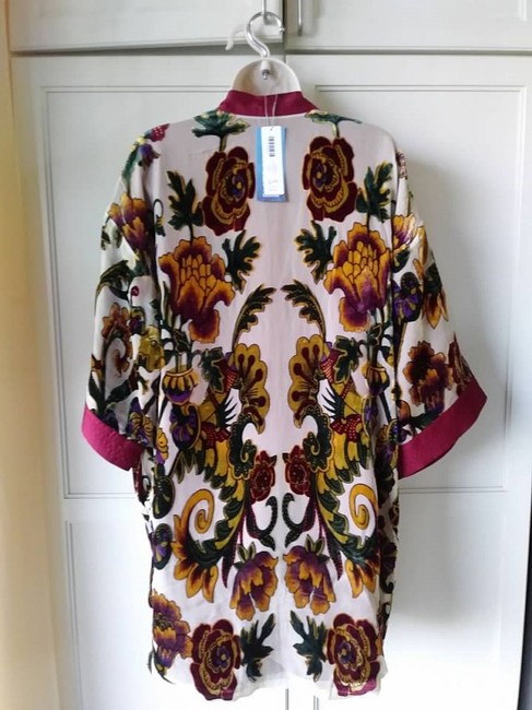 Chico's Kimono Burnout Velvet Limited Edition Tunic Image 2
