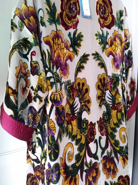 Chico's Kimono Burnout Velvet Limited Edition Tunic Image 3