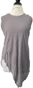 Ronen Chen Asymmetrical New With Tags Top Gray