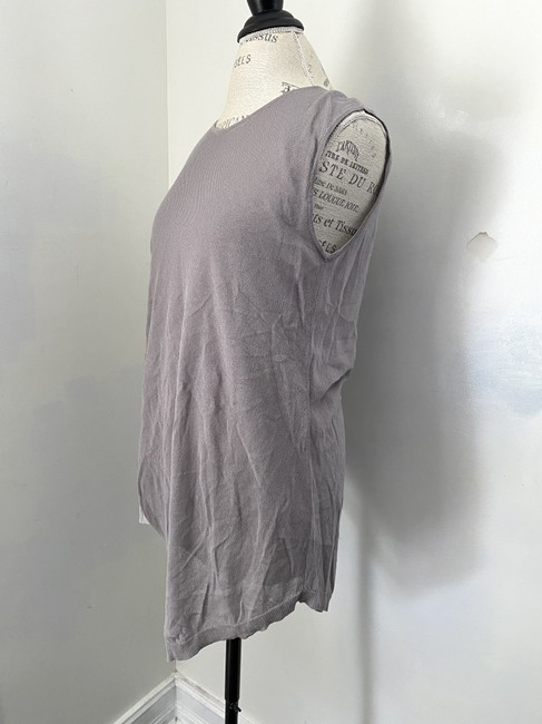Ronen Chen Asymmetrical New With Tags Top Gray Image 2