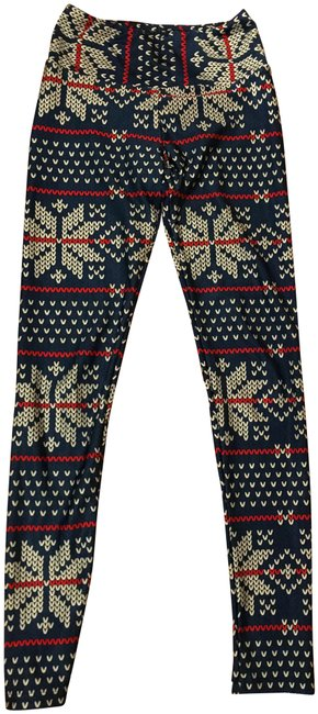 Preload https://img-static.tradesy.com/item/26454927/goldsheep-blue-multi-holiday-activewear-bottoms-size-4-s-27-0-1-650-650.jpg