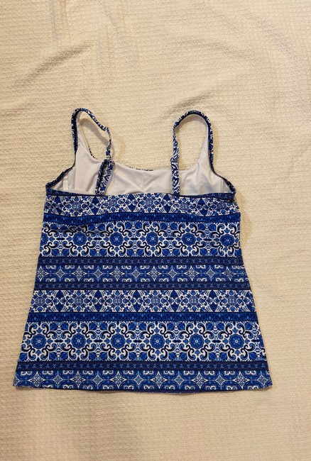 Lands' End Square-neck Underwire Tankini Top Image 1