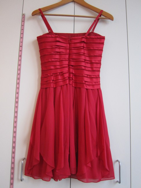 BCBGMAXAZRIA Silk Strapless Dress Image 2