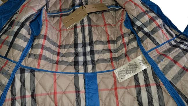 Burberry Brit Nova Check Plaid Blue Jacket Image 5