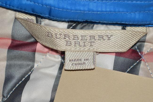 Burberry Brit Nova Check Plaid Blue Jacket Image 7