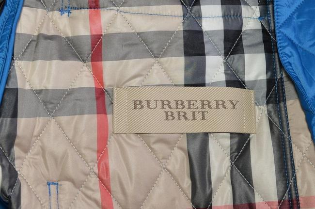 Burberry Brit Nova Check Plaid Blue Jacket Image 8